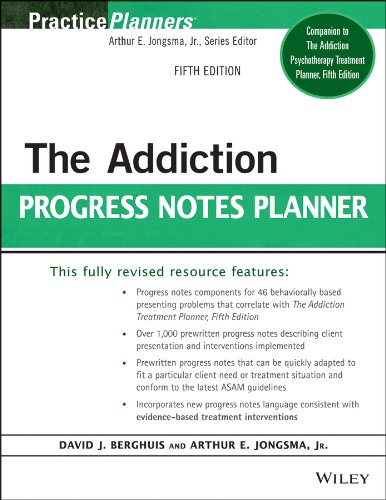 Addiction Progress Notes Planner  5th 2015 9781118542965 Front Cover