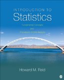 Introduction to Statistics Fundamental Concepts and Procedures of Data Analysis  2014 edition cover