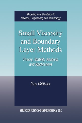 Small Viscosity and Boundary Layer Methods Theory, Stability Analysis, and Applications  2004 edition cover