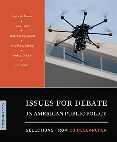 Issues for Debate in American Public Policy: Selections from Cq Researcher  2015 edition cover