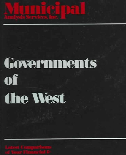 Governments of the West 2005: Governments of Arizona, Idaho, New Mexico, Nevada, & Utah 2005  2005 edition cover