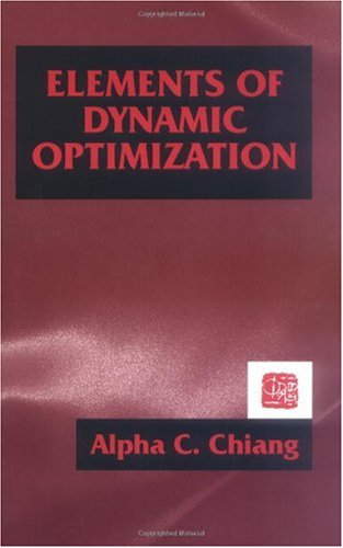 Elements of Dynamic Optimization  N/A edition cover