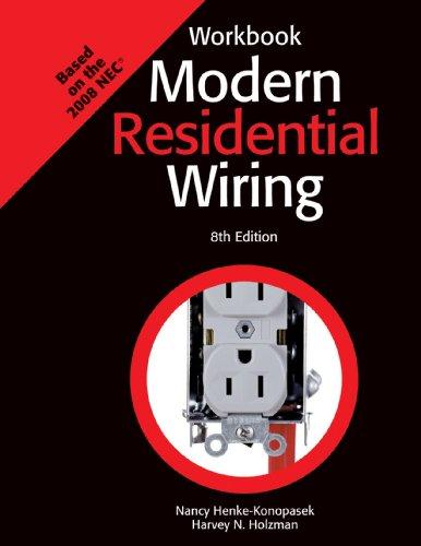 Modern Residential Wiring  8th 2008 (Workbook) edition cover