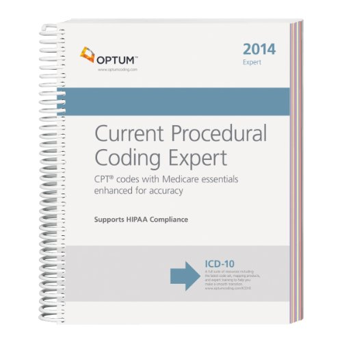 Current Procedural Coding Expert 2014:   2013 edition cover
