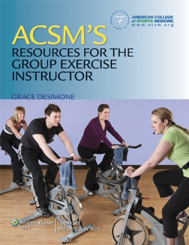 ACSM's Resources for the Group Exercise Instructor   2012 edition cover