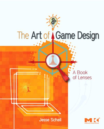 Art of Game Design A Book of Lenses  2008 edition cover