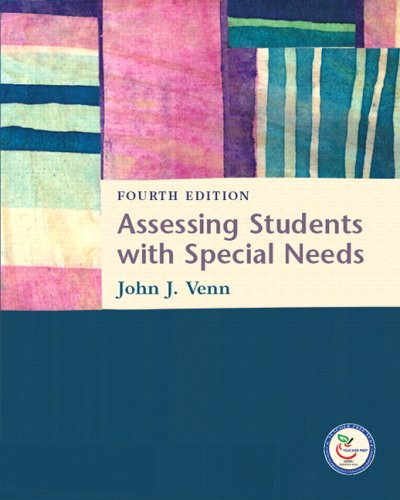 Assessing Students with Special Needs  4th 2007 (Revised) edition cover