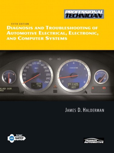 Diagnosis and Troubleshooting of Automotive Electrical, Electronic, and Computer Systems  5th 2010 edition cover