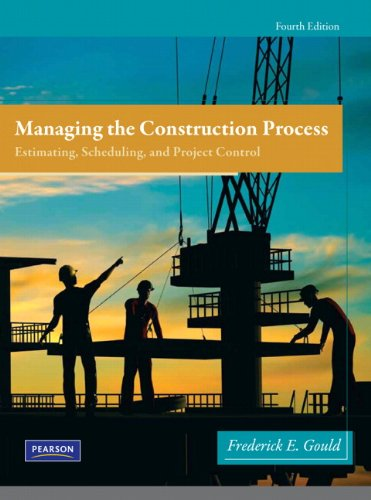 Managing the Construction Process  4th 2012 (Revised) edition cover