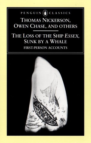 Loss of the Ship Essex, Sunk by a Whale   2000 edition cover
