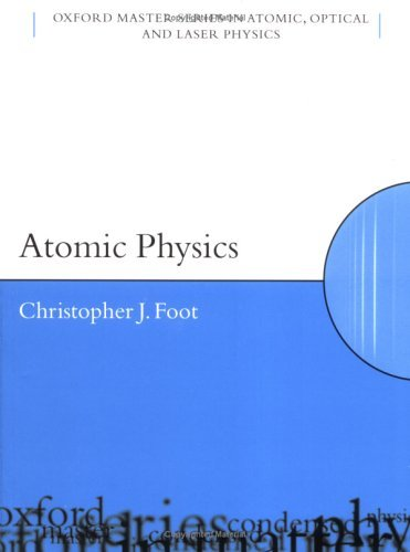 Atomic Physics   2003 edition cover