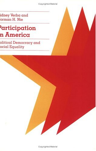 Participation in America Political Democracy and Social Equality  1987 (Reprint) 9780226852966 Front Cover