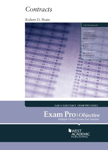 Exam Pro on Contracts, Objective:   2013 edition cover