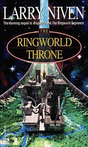 Ringworld Throne   1996 edition cover