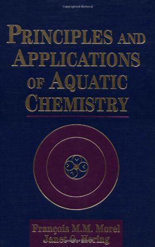 Principles and Applications of Aquatic Chemistry  1st 1993 edition cover