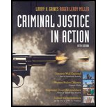 CRIMINAL JUSTICE IN ACTION:COR 4th 2008 9780495100966 Front Cover