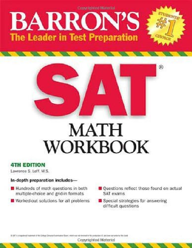SAT  4th 2009 (Revised) edition cover