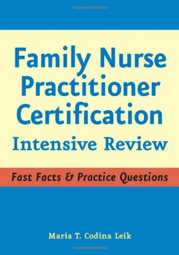 Family Nurse Practitioner Certification Intensive Review  2007 9780826102966 Front Cover