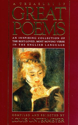 Treasury of Great Poems   1955 edition cover
