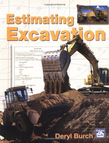 Estimating Excavation  N/A edition cover