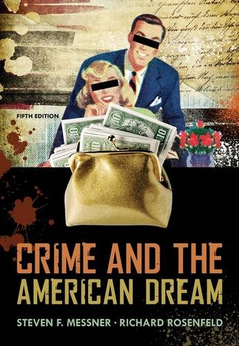 Crime and the American Dream  5th 2013 edition cover