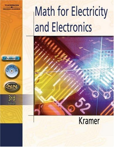 Math for Electricity and Electronics  3rd 2006 (Revised) 9781401870966 Front Cover