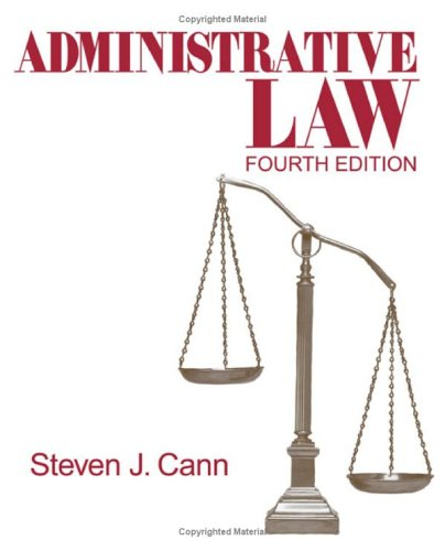 Administrative Law  4th 2006 (Revised) edition cover