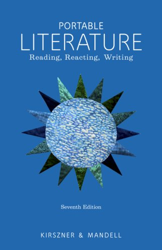 Portable Literature Reading, Reacting, Writing 7th 2010 edition cover