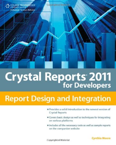 Crystal Reports 2011 for Developers   2012 edition cover