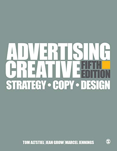 Advertising Creative Strategy, Copy, and Design 5th 2020 (Revised) 9781506386966 Front Cover
