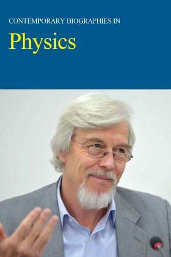Contemporary Biographies in Physics:   2013 edition cover
