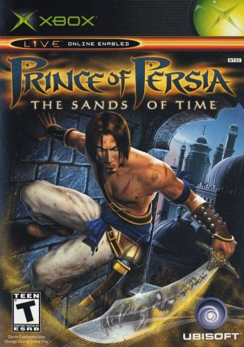 Prince of Persia: The Sands of Time Xbox artwork