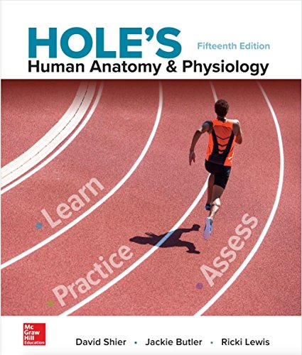 Cover art for Hole's Human Anatomy and Physiology, 15th Edition