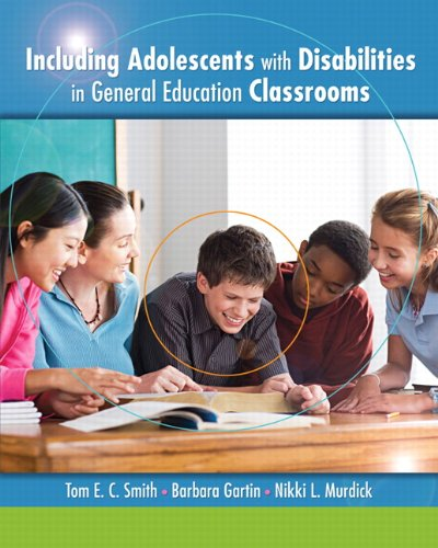 Including Adolescents with Disabilities in General Education Classrooms   2012 (Revised) edition cover