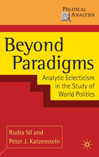 Beyond Paradigms Analytic Eclecticism in the Study of World Politics  2010 9780230207967 Front Cover