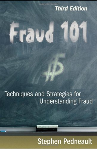 Fraud 101 Techniques and Strategies for Understanding Fraud 3rd 2009 9780470481967 Front Cover