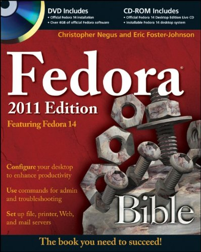 Fedora 2011 Featuring Fedora 14  2011 9780470944967 Front Cover