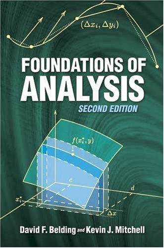 Foundations of Analysis  2nd 2008 edition cover