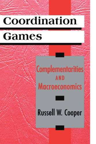 Coordination Games Complementarities and Macroeconomics  1999 edition cover