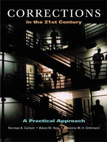 Corrections in the 21st Century A Practical Approach  1999 9780534534967 Front Cover