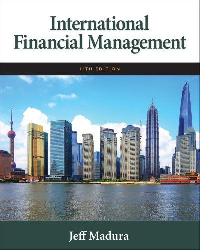 International Financial Management  11th 2012 edition cover
