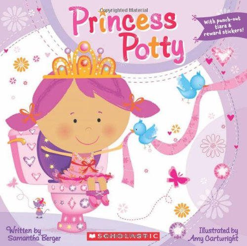 Princess Potty  N/A 9780545172967 Front Cover