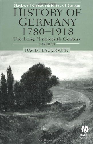 History of Germany 1780-1918 The Long Nineteenth Century 2nd 2002 (Revised) edition cover
