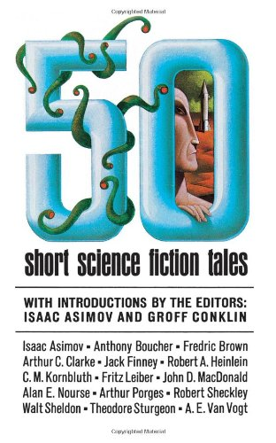 50 Short Science Fiction Tales   1997 edition cover