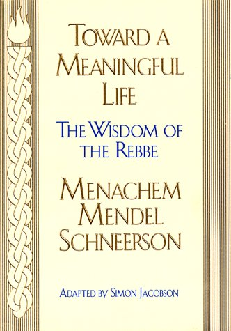 Toward a Meaningful Life  N/A edition cover
