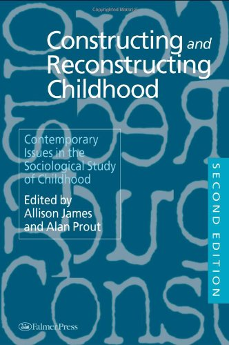 Constructing and Reconstructing Childhood Contemporary Issues in the Sociological Study of Childhood 2nd 1997 (Revised) edition cover