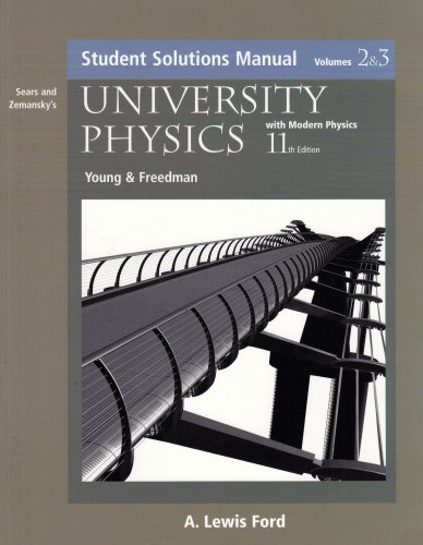 Sears and Zemansky's University Physics With Modern Physics: Students 11th 2004 9780805386967 Front Cover