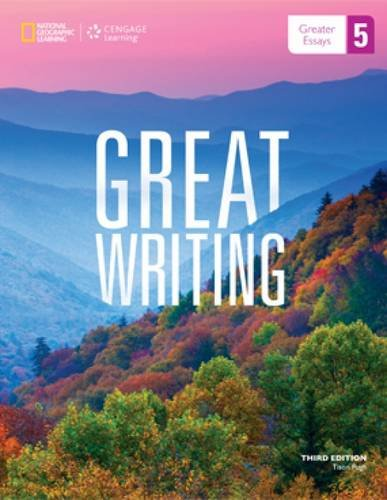 GREAT WRITING 5:GREATER ESSAYS N/A 9781285194967 Front Cover