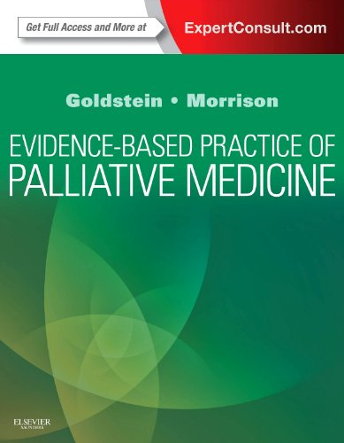 Evidence-Based Practice of Palliative Medicine   2012 edition cover