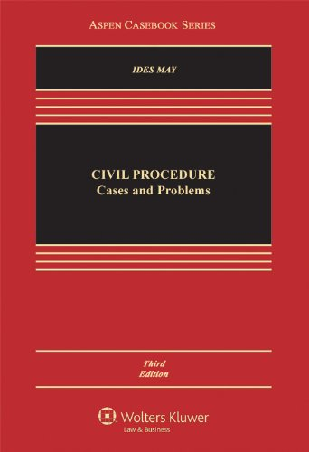 Civil Procedure Cases and Problems 4th 2012 (Revised) edition cover